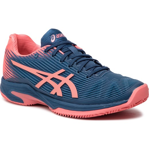 Buty sportowe damskie Asics do biegania na płaskiej podeszwie bez wzorów na wiosnę