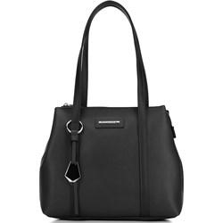 efd6eb55bf5c3 Shopper bag Wittchen elegancka z breloczkiem ze skóry ekologicznej na ramię