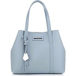 03c83ad893ee5 Shopper bag Wittchen elegancka matowa ze skóry ekologicznej