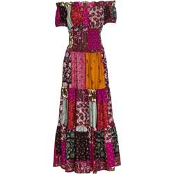 771a5548ecdd26 Sukienka Rainbow z krótkim rękawem