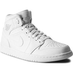 2342c9c9 Buty sportowe męskie Nike air jordan białe ze skóry ekologicznej ...
