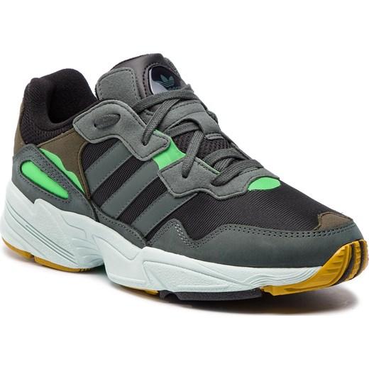 Buty sportowe męskie Adidas na wiosnę z tworzywa sztucznego