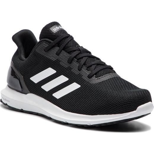 Buty sportowe męskie Adidas czarne sznurowane www