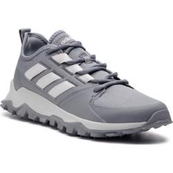 a505f3a097e93f Buty trekkingowe męskie Adidas sznurowane sportowe z tworzywa sztucznego ...