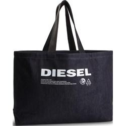 37da87fd511be Shopper bag Diesel wakacyjna bez dodatków na ramię ...