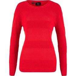 5afcb36d6c8a4c Czerwone swetry klasyczne bonprix, lato 2019 w Domodi
