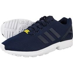b26f2c62f92c Buty sportowe damskie Adidas zx flux czarne sznurowane gładkie