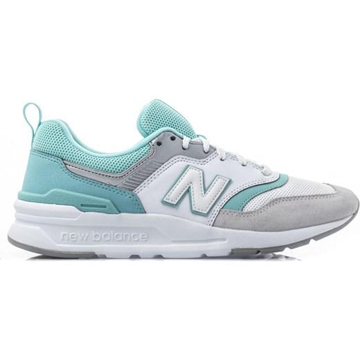 0434a1e537a4e5 ... Buty sportowe damskie New Balance casualowe w stylu młodzieżowym sznurowane  bez wzorów ...