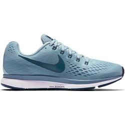 df93134f9d4a Nike buty sportowe damskie dla biegaczy zoom niebieskie gładkie