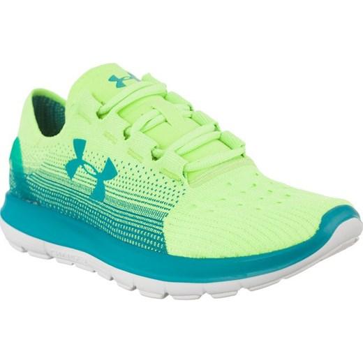 Buty sportowe damskie Under Armour do biegania na płaskiej podeszwie