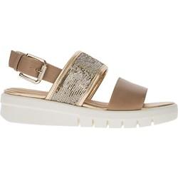 4ef461b1 Brązowe sandały damskie geox, lato 2019 w Domodi