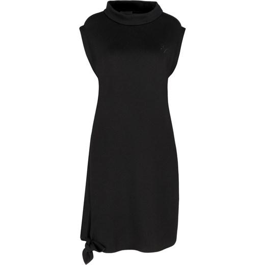 9d327d657f Sukienka czarna Emporio Armani bez rękawów na sylwestra mini casual ...