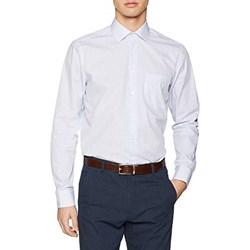 fe89275849b82 Koszula męska Seidensticker w grochy biała