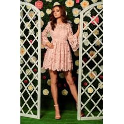 1072c30754 Sukienka Lemoniade różowa mini na uczelnię w kwiaty
