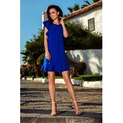 4d15cd04df Sukienka Lemoniade niebieska z okrągłym dekoltem bez rękawów elegancka