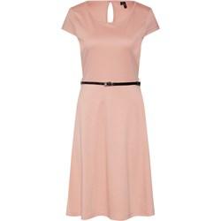 c46a6d7b Sukienka Vero Moda midi jerseyowa elegancka