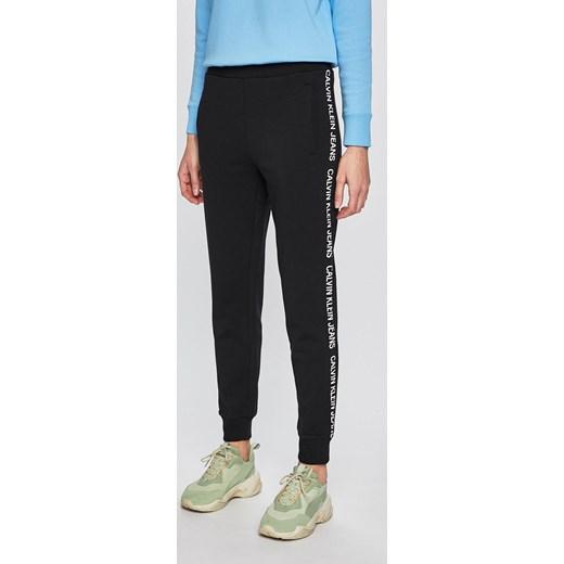 60b6e08ced113 Spodnie damskie Calvin Klein bawełniane w Domodi