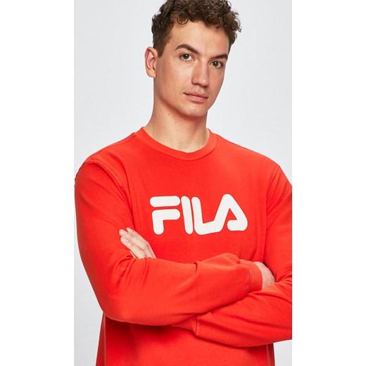 najlepszy Fila bluza męska Odzież Męska BW czerwony Bluzy