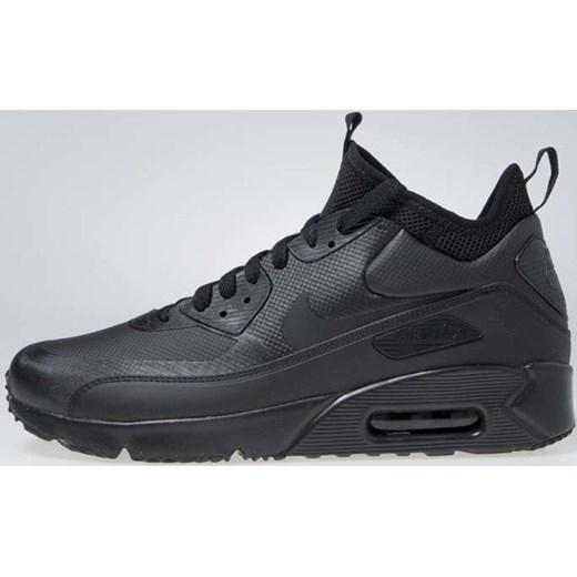 Czarne buty sportowe męskie Nike air max 91