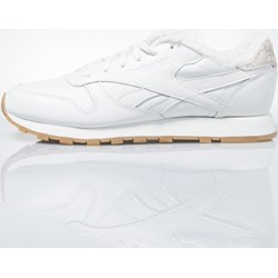 984f62e5 Buty sportowe damskie białe Reebok Classic sneakersy płaskie wiosenne  sznurowane gładkie