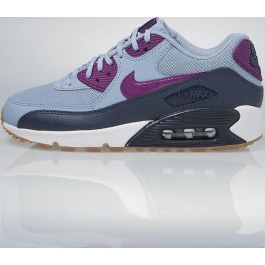 dobrze out x wyglądają dobrze wyprzedaż buty najbardziej popularny Sneakers buty Nike WMNS Air Max 90 Essential blue grey / bright grape  616730-403 bludshop.com