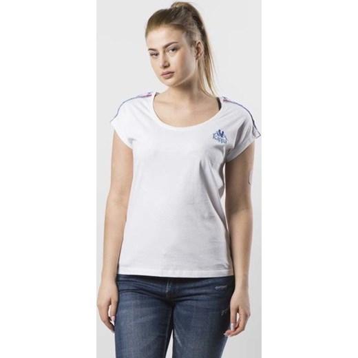 niska cena wiele stylów 100% najwyższej jakości Koszulka damska Kappa Chiara T-shirt white 303901-001 bludshop.com