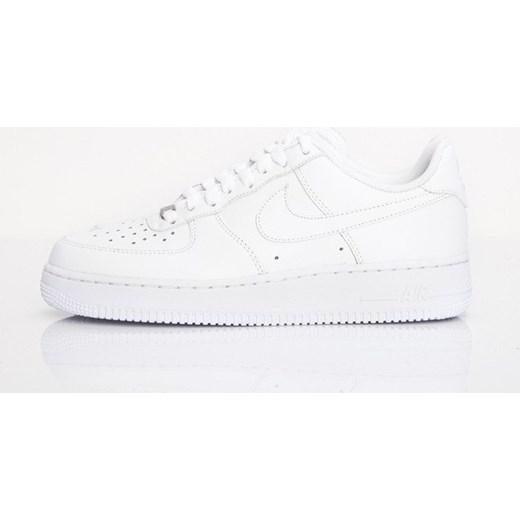 Buty sportowe damskie Nike do biegania air force płaskie wiązane gładkie