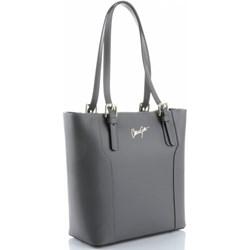 186cc064335ec Shopper bag Vittoria Gotti skórzana casualowa