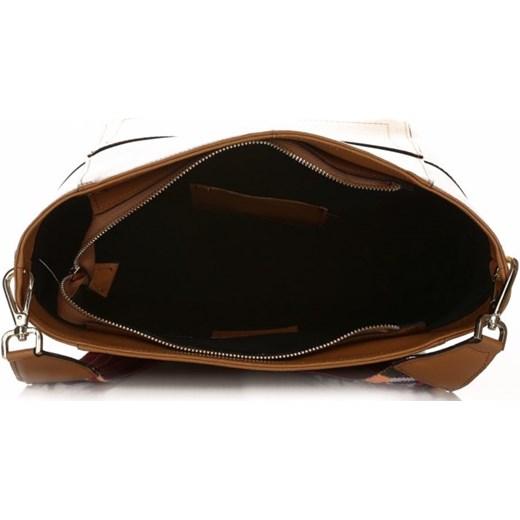 b570ec489cbf2 Modne i Pojemne Torby Damskie XL firmy Genuine Leather Brązowe (kolory) czarny  PaniTorbalska w Domodi