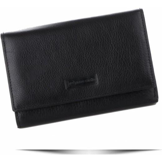 d8b493221537f Pierre Cardin portfel damski elegancki czarny w Domodi