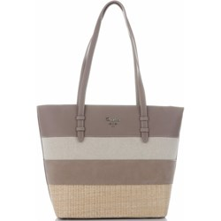 83063f749d4e6 Shopper bag David Jones elegancka mieszcząca a4 bez dodatków