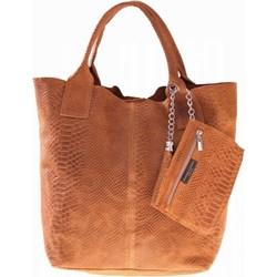8826f4a2588e Shopper bag Genuine Leather - PaniTorbalska