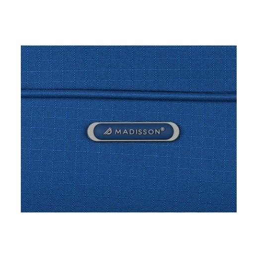 30f496cab857e Walizki Kabinówki 4 kółka obrotowe marki Madisson Niebieska (kolory) promocja  PaniTorbalska. Zobacz: Madisson