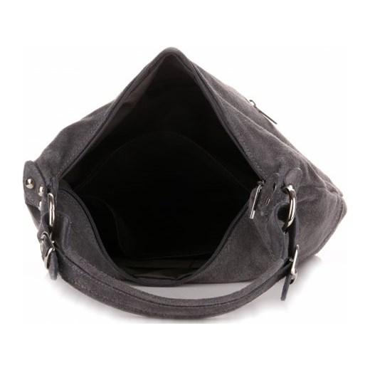 d14273c1498ee Uniwersalne Włoskie Torebki Skórzane Genuine Leather Szara (kolory) szary  PaniTorbalska w Domodi