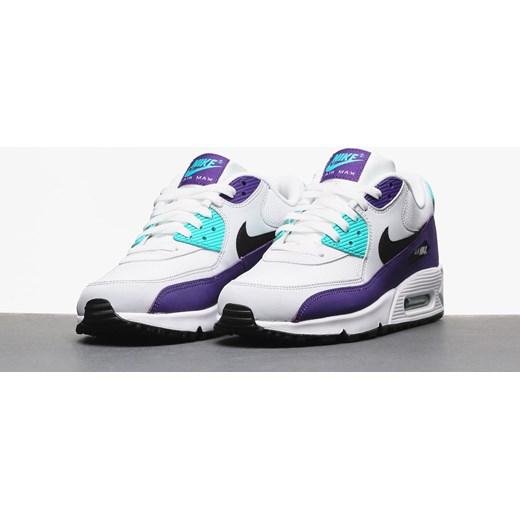 multiple colors 4689b 385c7 ... Buty Nike Air Max 90 Essential (white black hyper jade court purple)  Nike ...