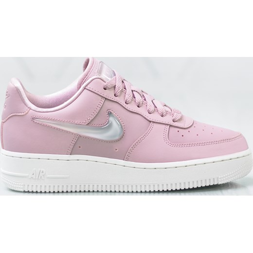 Buty sportowe damskie Nike air force wiązane różowe
