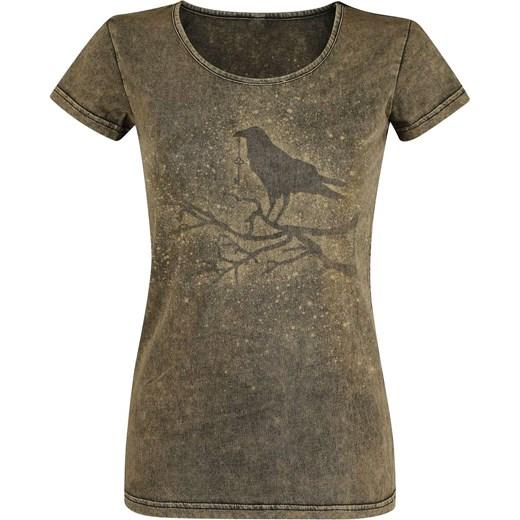 Bluzka damska Black Premium By Emp bawełniana z krótkim rękawem