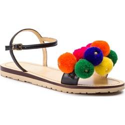 56048c5c Love Moschino sandały damskie bez obcasa skórzane