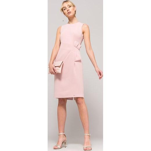 0691cd3507 Sukienka różowa Monnari bez rękawów na sylwestra w Domodi