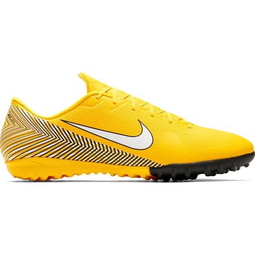 Buty sportowe męskie Nike Football mercurial sznurowane żółte na wiosnę