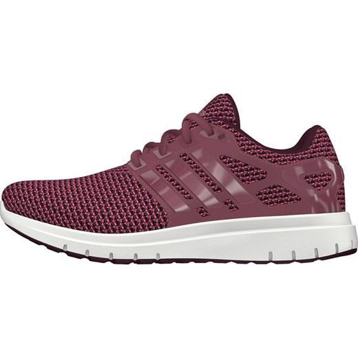 Buty sportowe damskie Adidas do biegania różowe na wiosnę