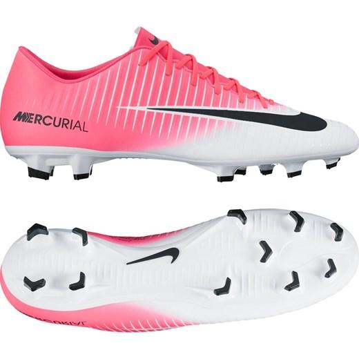 Buty sportowe męskie Nike Football mercurial rÓżowe na