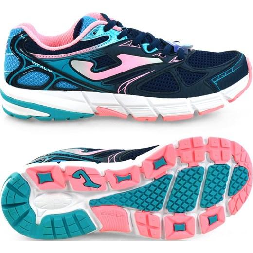 Joma buty sportowe damskie do biegania wiązane bez wzorów płaskie
