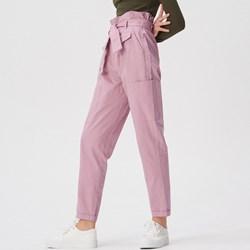 9913f29b6054 Spodnie damskie różowe Sinsay