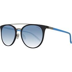4dd72707f0a35 GUESS damskie okulary przeciwsłoneczne Black Light Blue - zdjęcie produktu