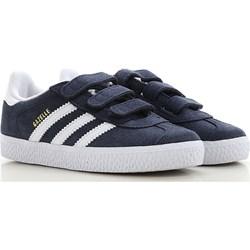 748603ed68592 Trampki dziecięce Adidas bez wzorów z zamszu