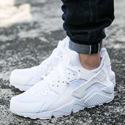 konkurencyjna cena różne style za kilka dni Nike buty sportowe męskie huarache białe