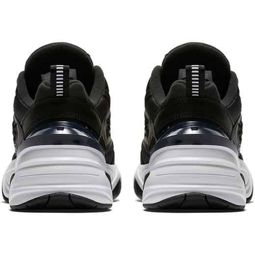 Buty sportowe damskie Nike do koszykówki czarne sznurowane na płaskiej podeszwie