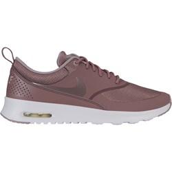 new product 059d6 5ec1c Buty sportowe damskie Nike do biegania air max thea bez wzorów sznurowane
