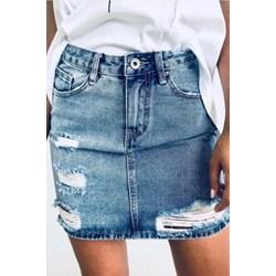470f46e229 Spódnice jeansowe